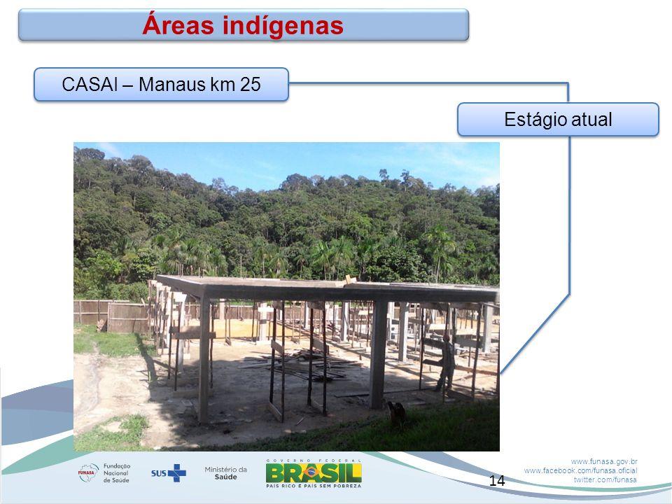 Áreas indígenas CASAI – Manaus km 25 Estágio atual 14