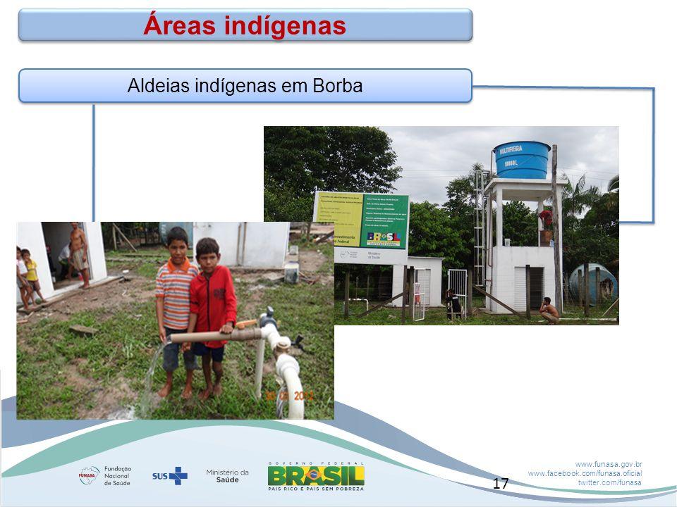 Aldeias indígenas em Borba