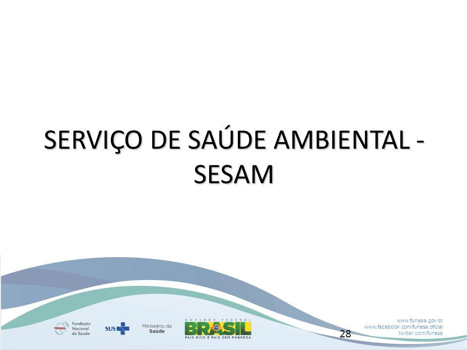 SERVIÇO DE SAÚDE AMBIENTAL - SESAM
