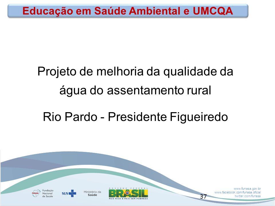 Educação em Saúde Ambiental e UMCQA