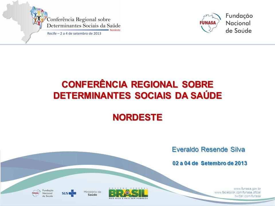 CONFERÊNCIA REGIONAL SOBRE DETERMINANTES SOCIAIS DA SAÚDE