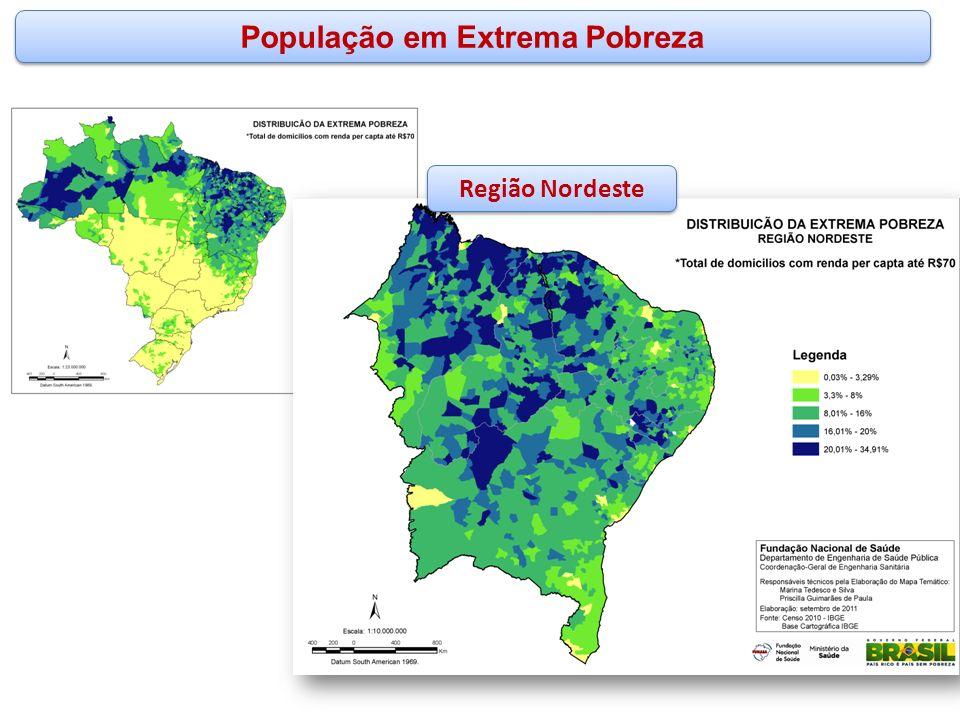 População em Extrema Pobreza