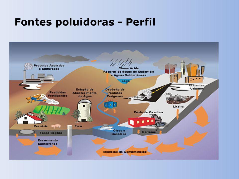 Fontes poluidoras - Perfil