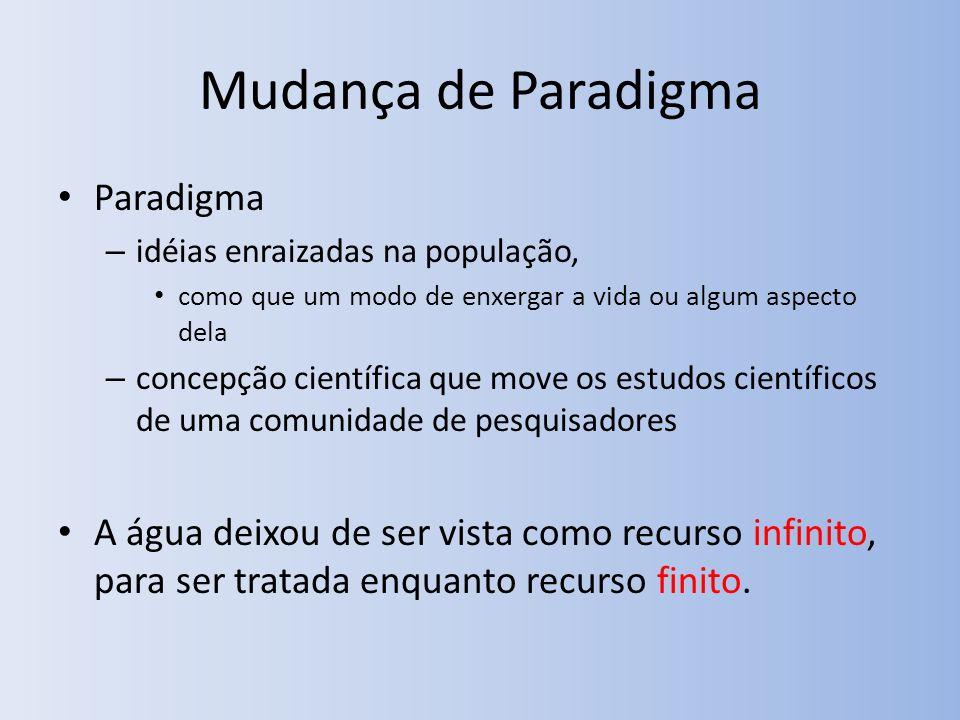 Mudança de Paradigma Paradigma