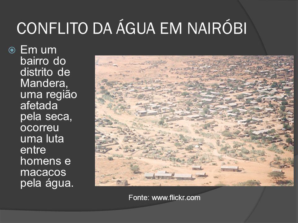 CONFLITO DA ÁGUA EM NAIRÓBI
