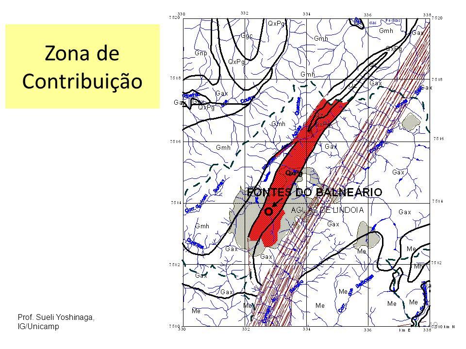 Zona de Contribuição Prof. Sueli Yoshinaga, IG/Unicamp 49 49