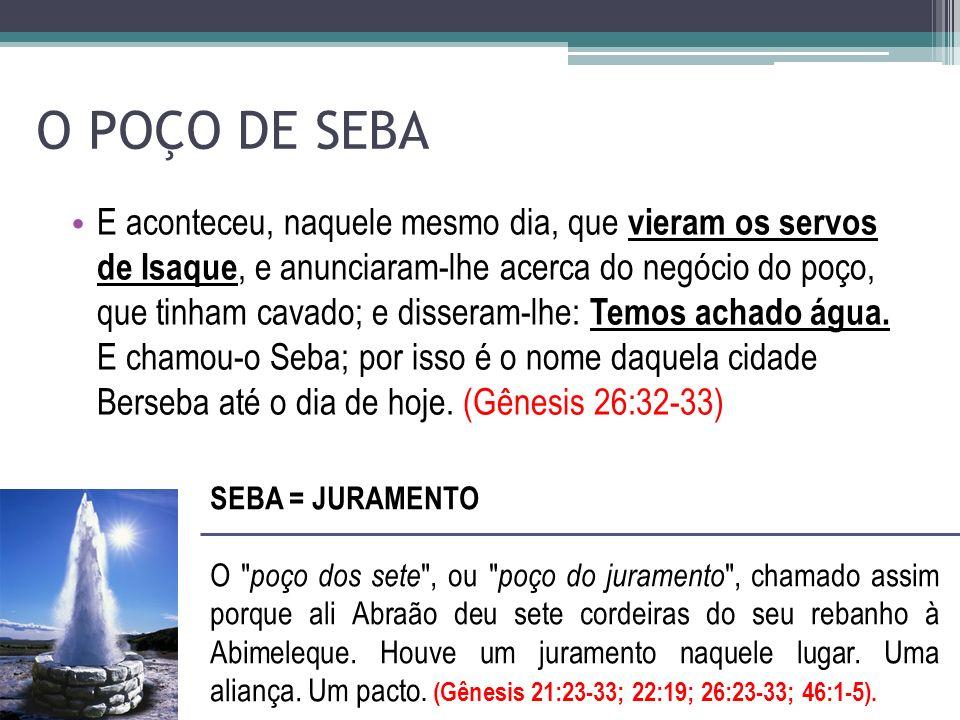 O POÇO DE SEBA