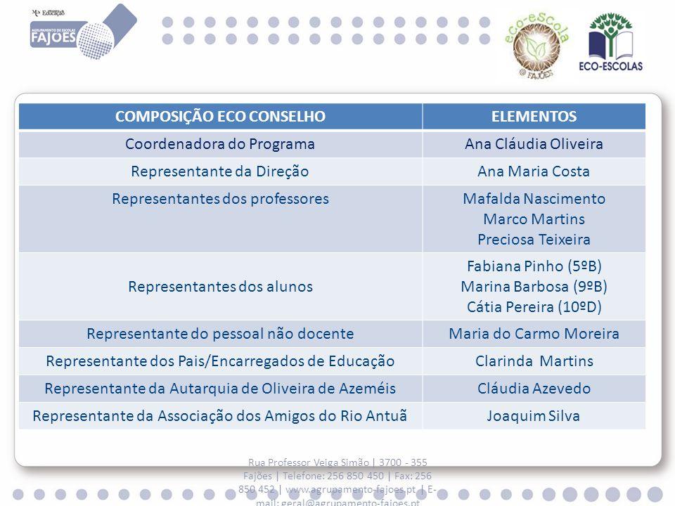COMPOSIÇÃO ECO CONSELHO