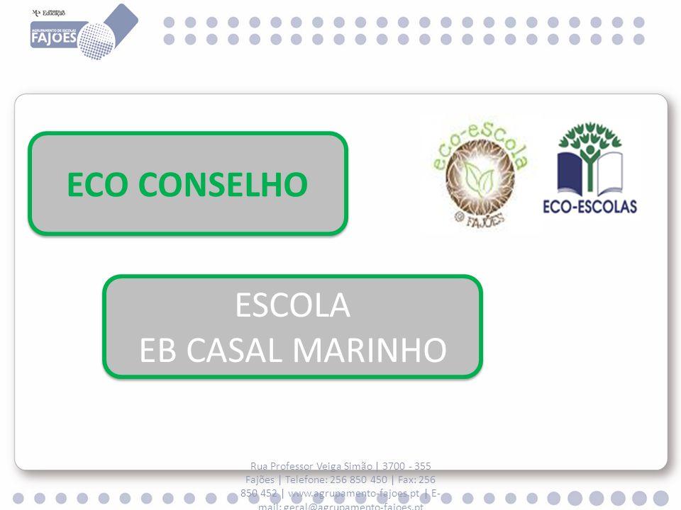ECO CONSELHO ESCOLA EB CASAL MARINHO