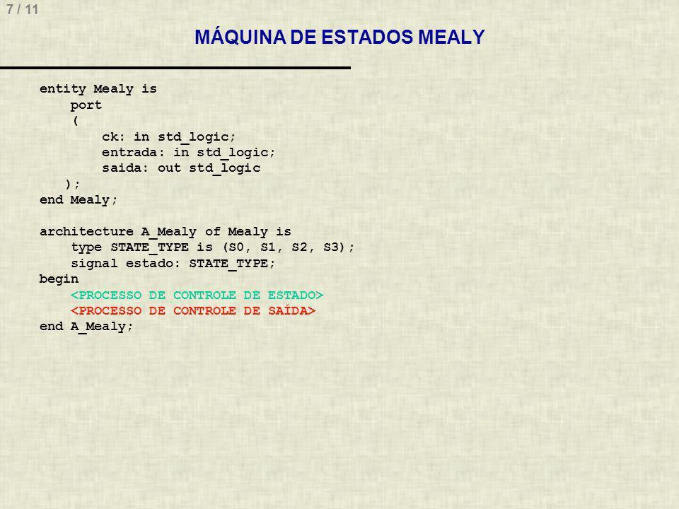 MÁQUINA DE ESTADOS MEALY