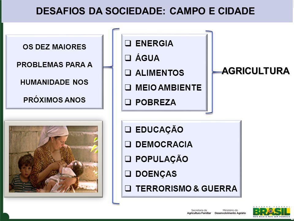 DESAFIOS DA SOCIEDADE: CAMPO E CIDADE