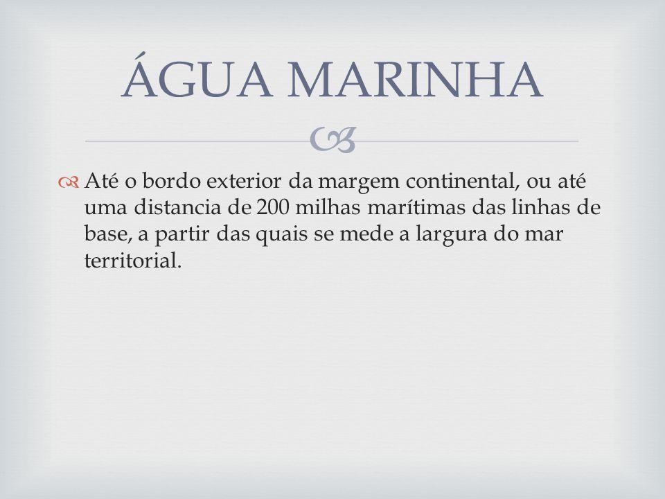 ÁGUA MARINHA