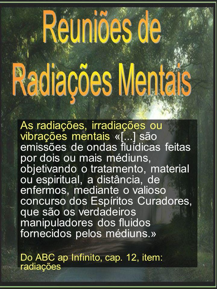 Reuniões de Radiações Mentais