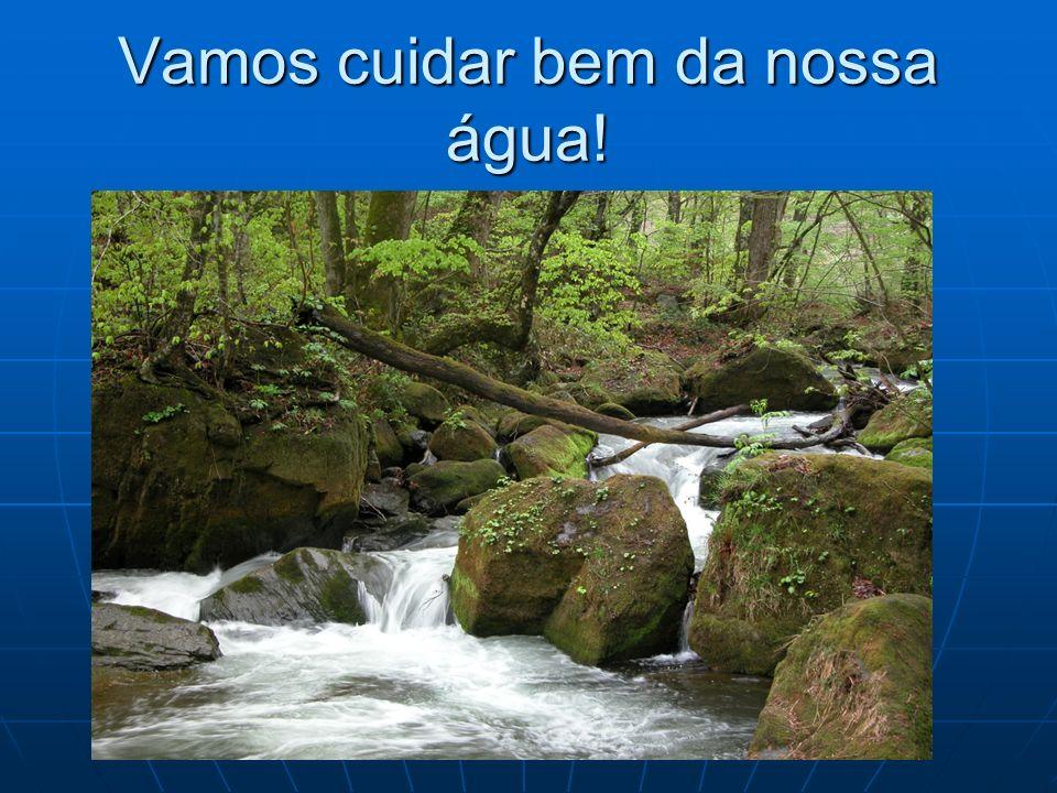 Vamos cuidar bem da nossa água!