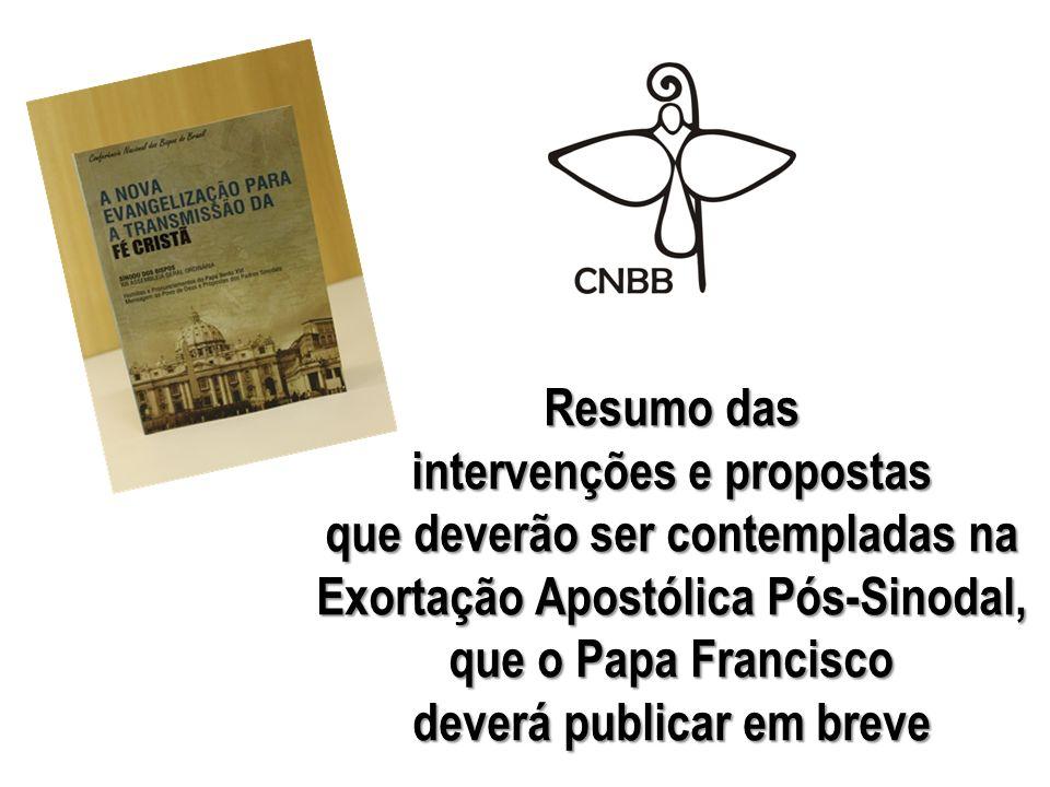 intervenções e propostas