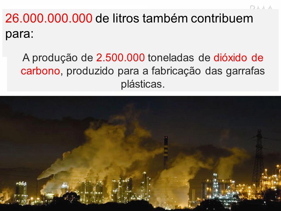 26.000.000.000 de litros também contribuem para: