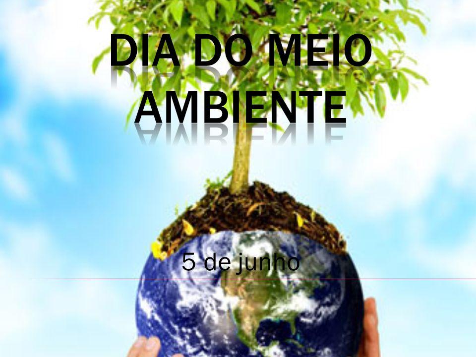 DIA DO MEIO AMBiente 5 de junho