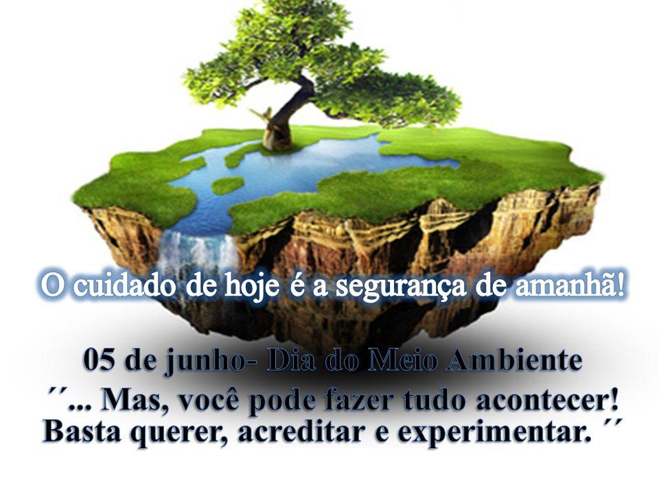 05 de junho- Dia do Meio Ambiente