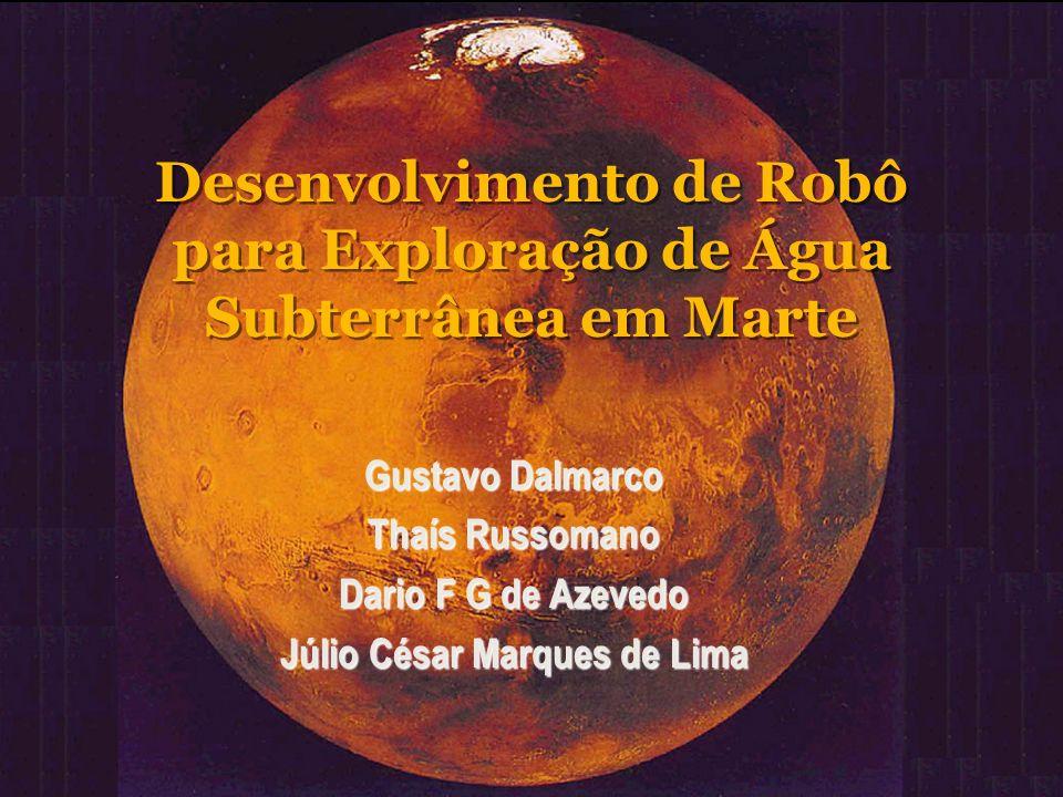 Desenvolvimento de Robô para Exploração de Água Subterrânea em Marte