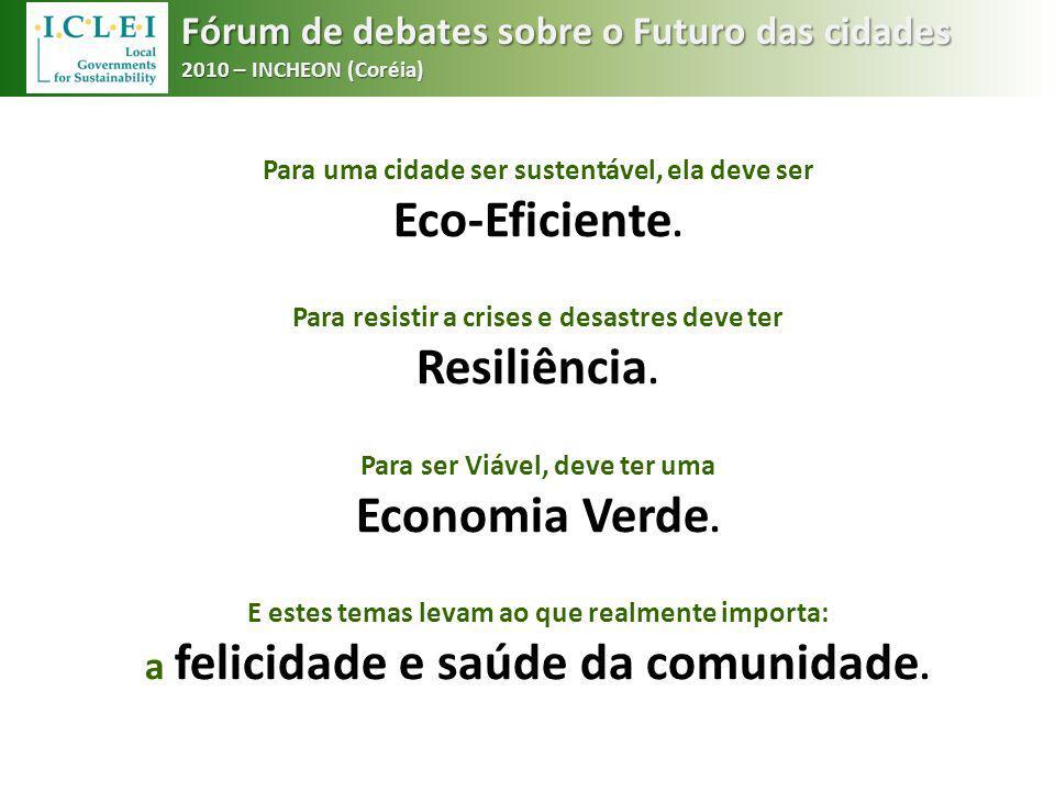 Eco-Eficiente. Resiliência. Economia Verde.