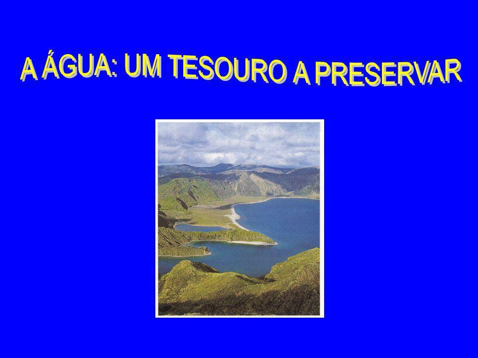 A ÁGUA: UM TESOURO A PRESERVAR
