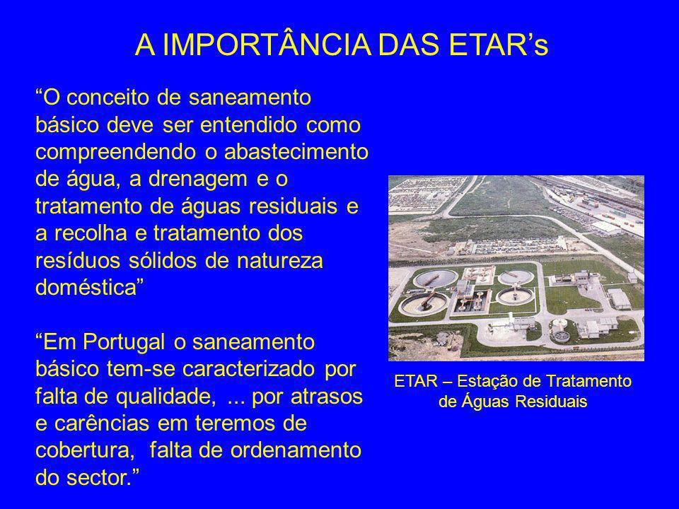 A IMPORTÂNCIA DAS ETAR's