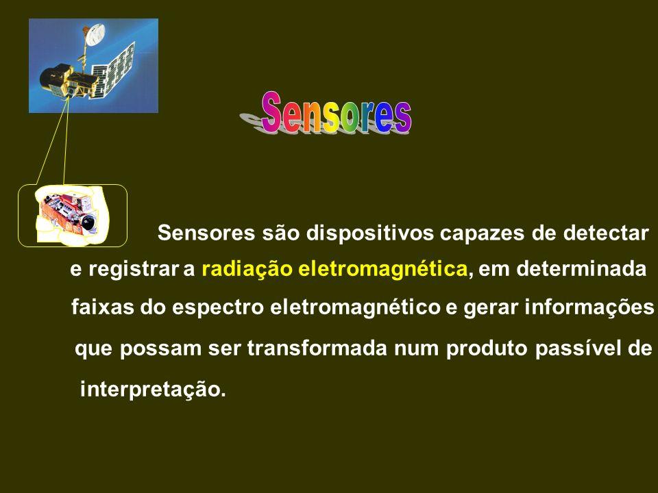 Sensores Sensores são dispositivos capazes de detectar