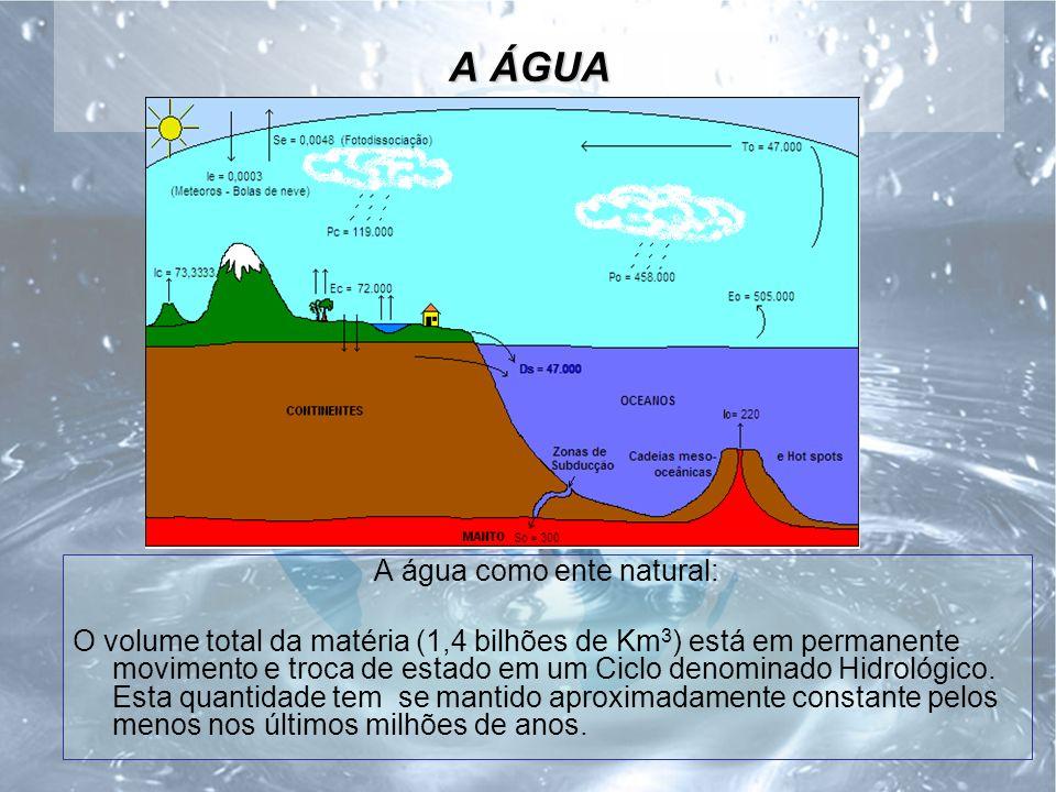A água como ente natural: