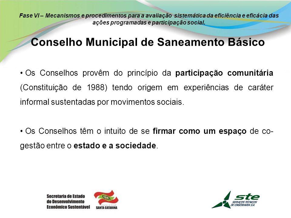 Conselho Municipal de Saneamento Básico