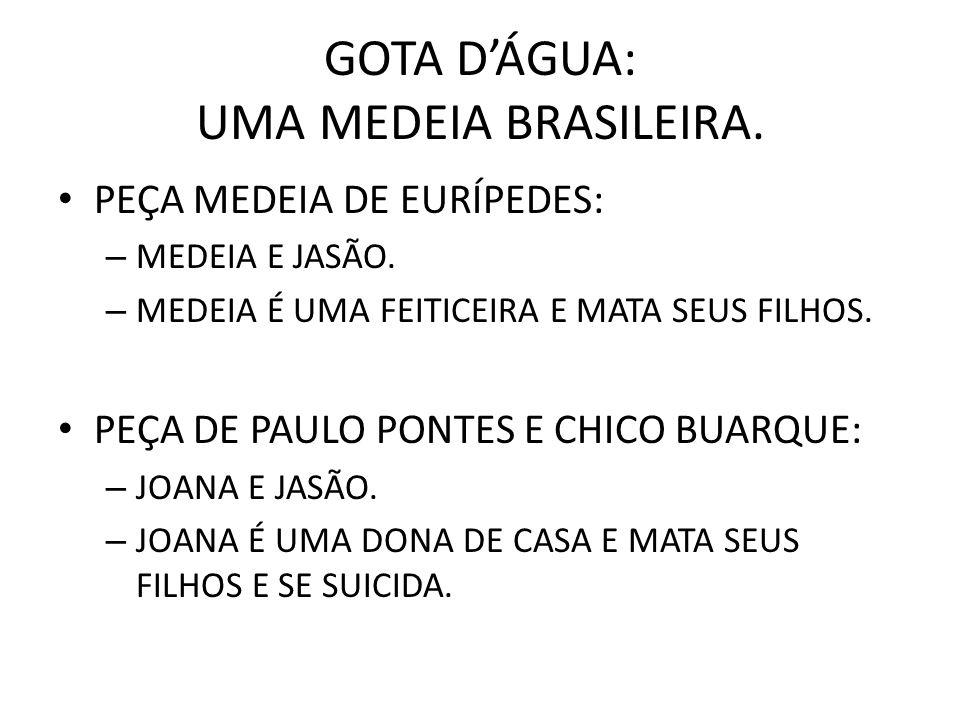GOTA D'ÁGUA: UMA MEDEIA BRASILEIRA.