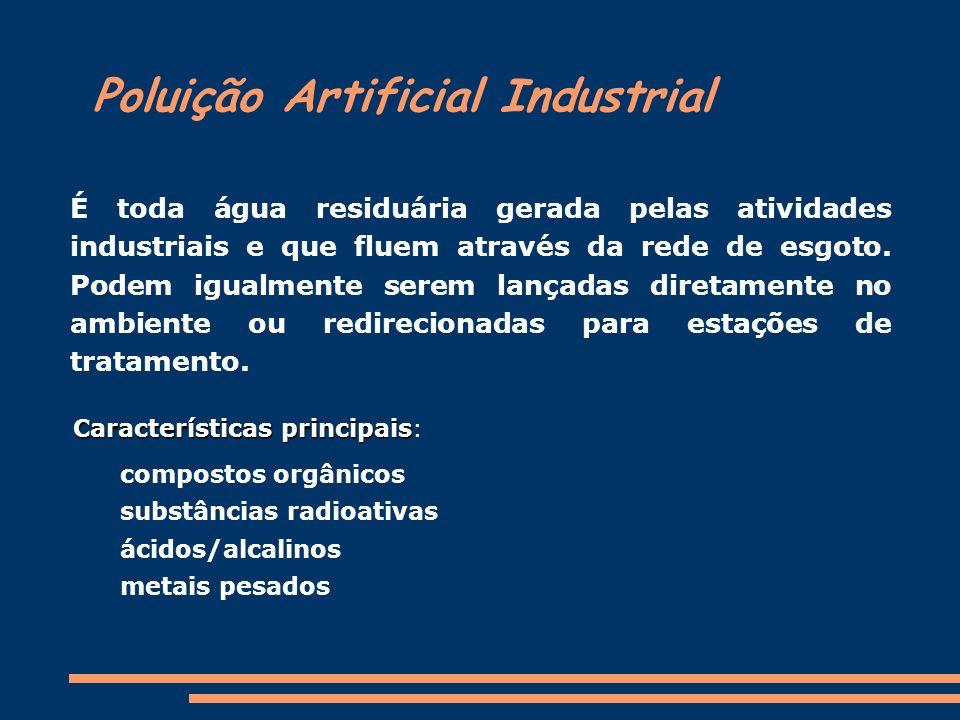 Poluição Artificial Industrial