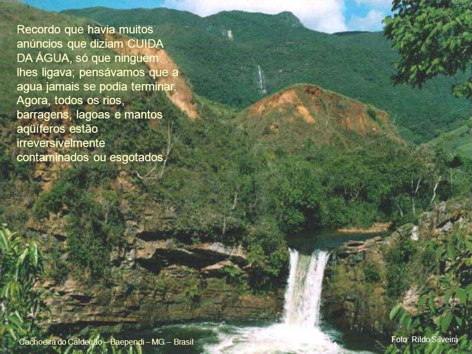Cachoeira do Caldeirão – Baependi – MG – Brasil