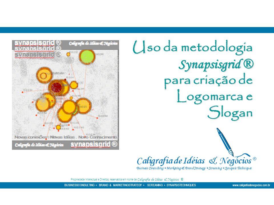 Uso da metodologia Synapsisgrid ® para criação de Logomarca e Slogan