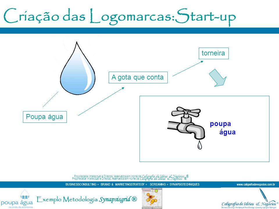 Criação das Logomarcas:Start-up