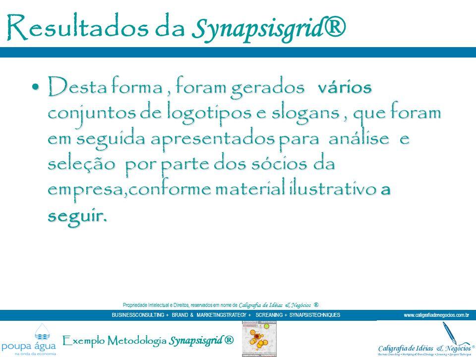 Resultados da Synapsisgrid®