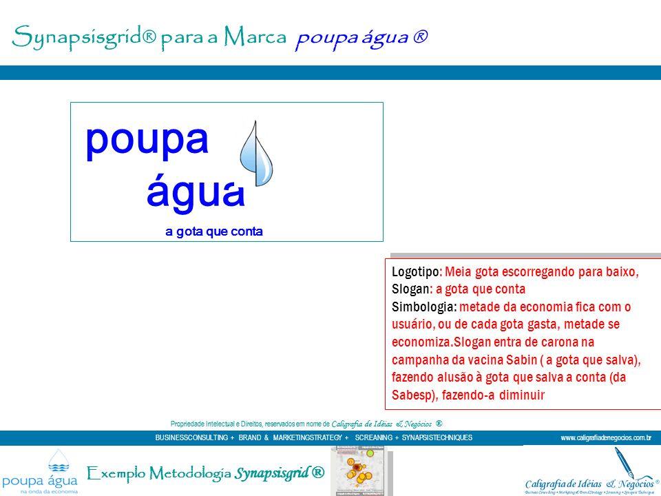 poupa água Synapsisgrid® para a Marca poupa água ®