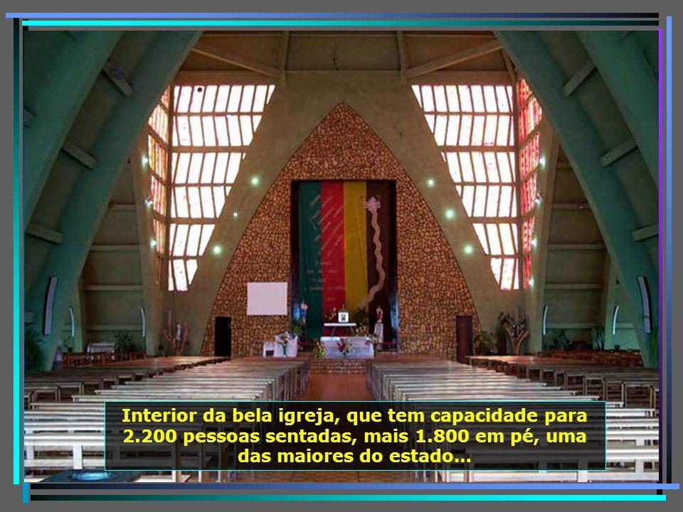 P0011468 - URUBICI - CATEDRAL N. S. MÃE DOS HOMENS - INTERIOR-650