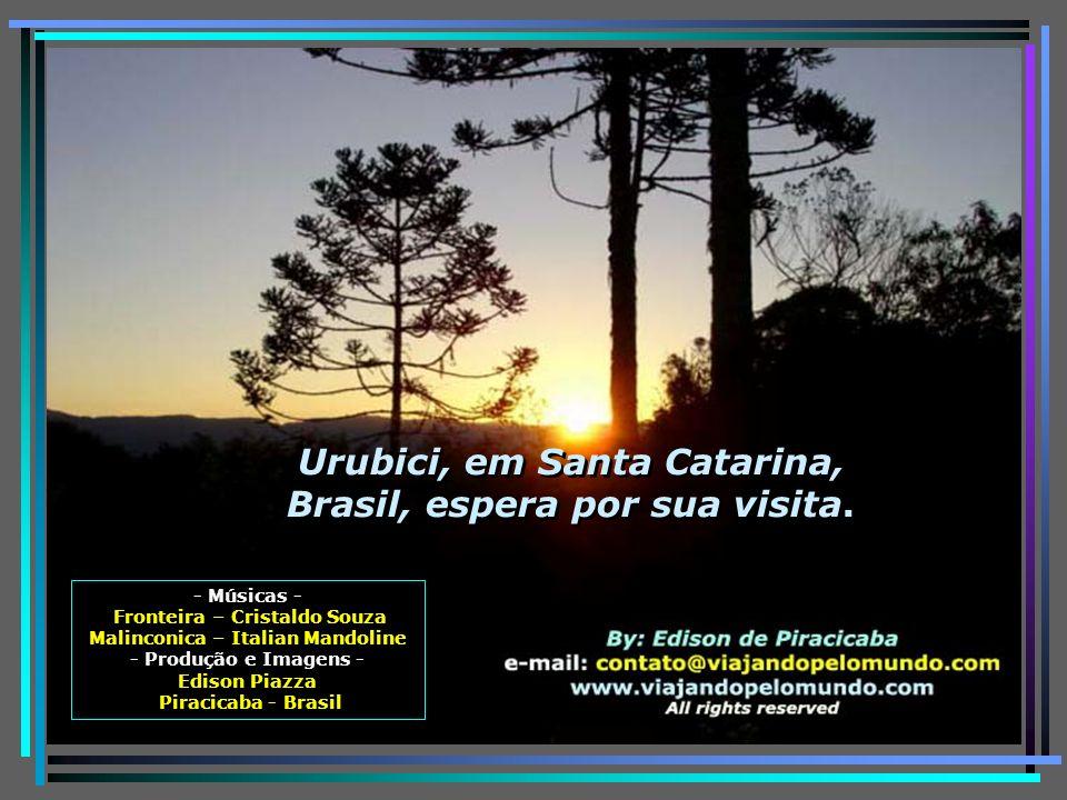 Urubici, em Santa Catarina, Brasil, espera por sua visita.