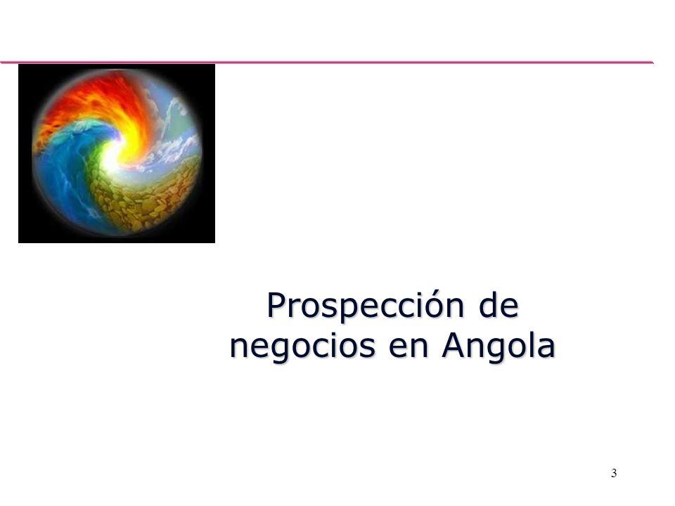 Prospección de negocios en Angola