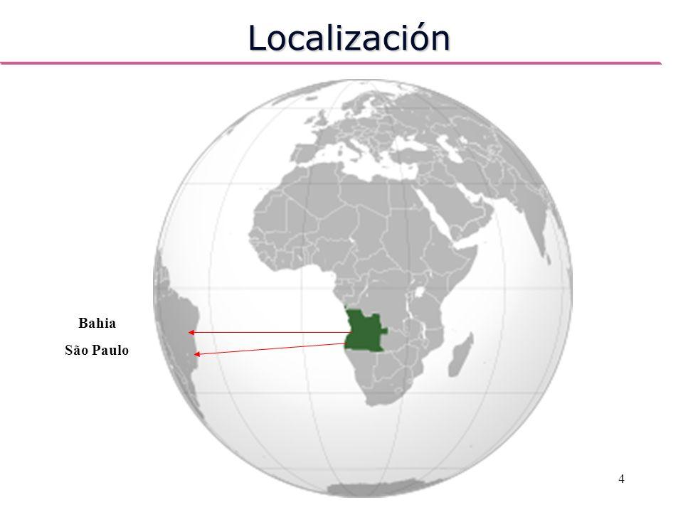 Localización Bahia São Paulo