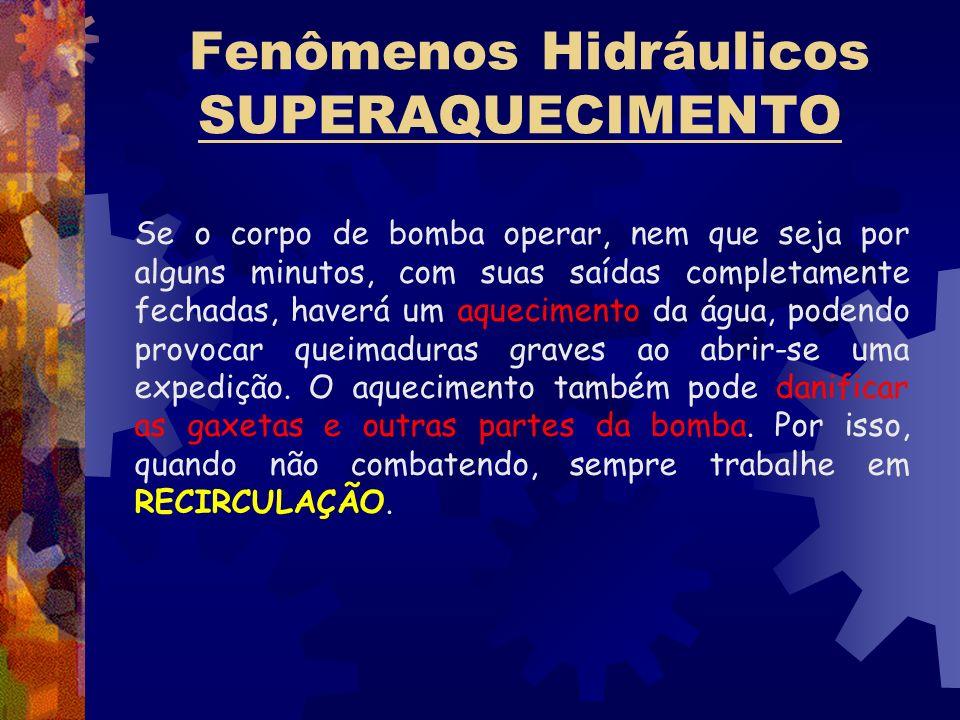 Fenômenos Hidráulicos SUPERAQUECIMENTO