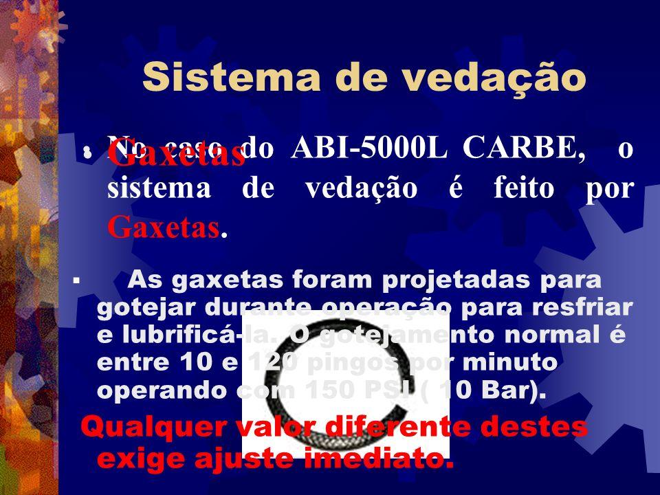 Sistema de vedação Gaxetas