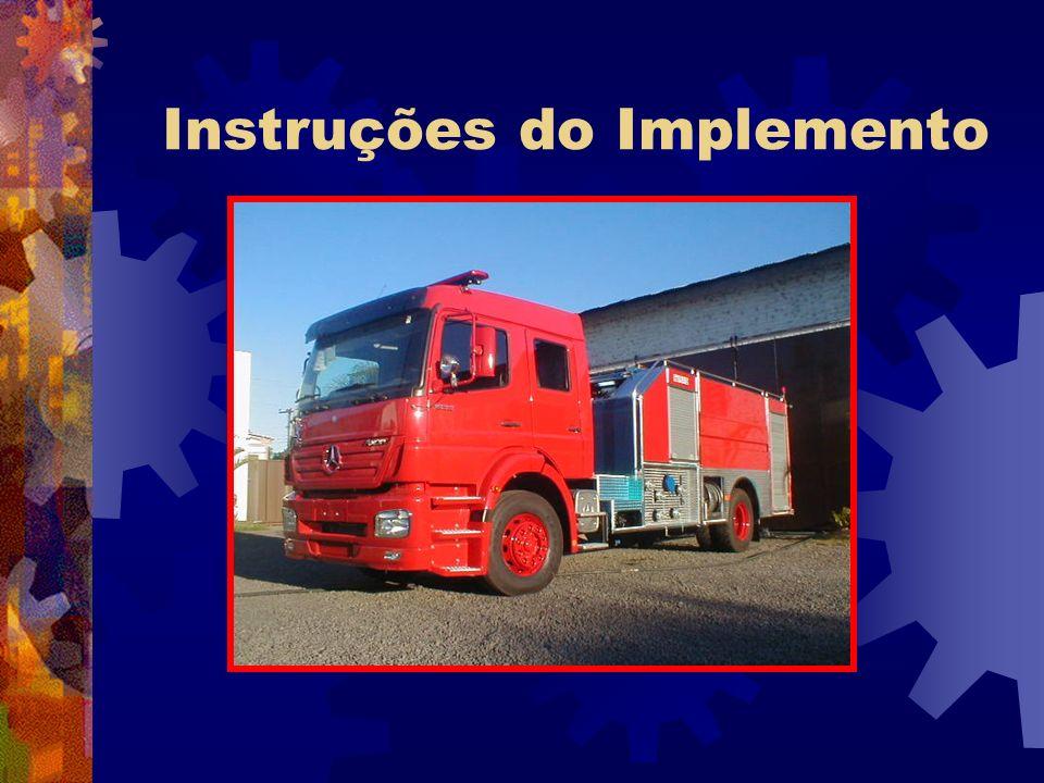 Instruções do Implemento