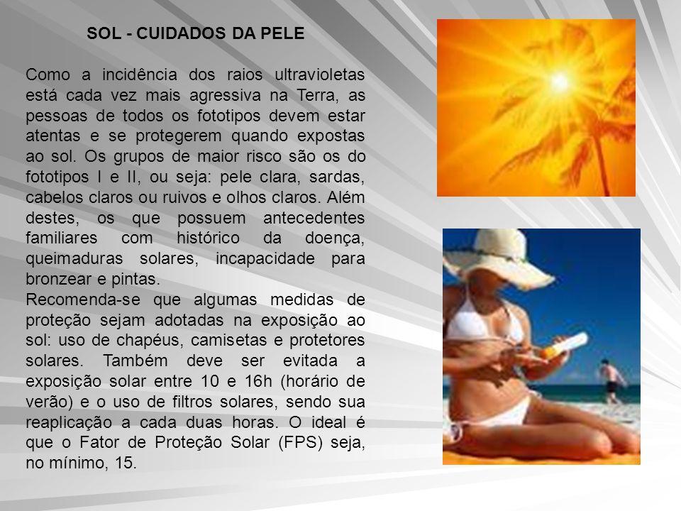 SOL - CUIDADOS DA PELE