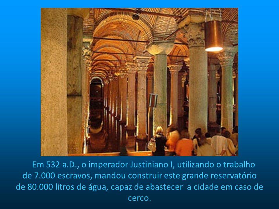 Em 532 a. D. , o imperador Justiniano I, utilizando o trabalho de 7