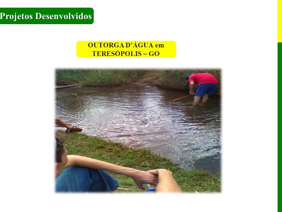 OUTORGA D'ÁGUA em TERESÓPOLIS – GO