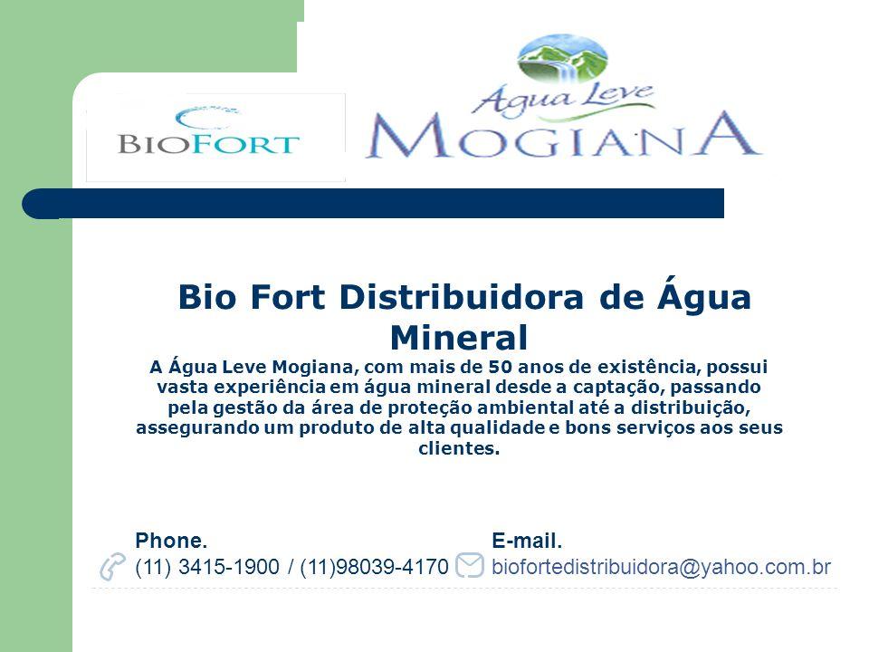 Bio Fort Distribuidora de Água Mineral