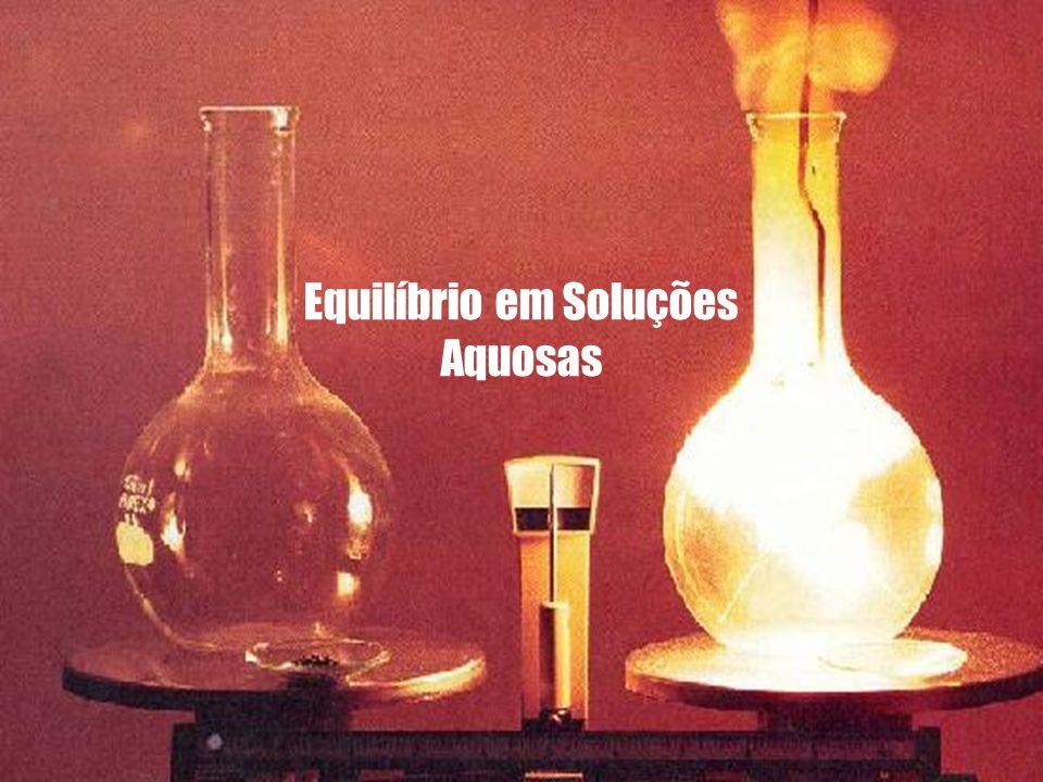 Equilíbrio em Soluções Aquosas