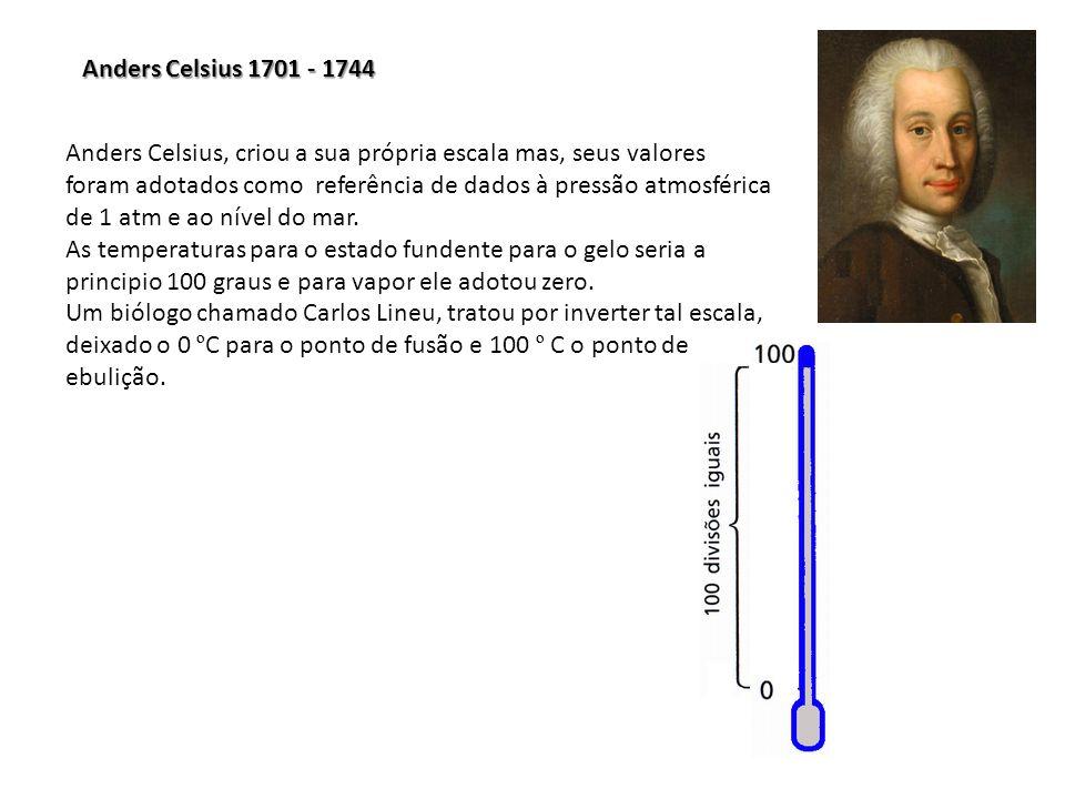 Anders Celsius 1701 - 1744