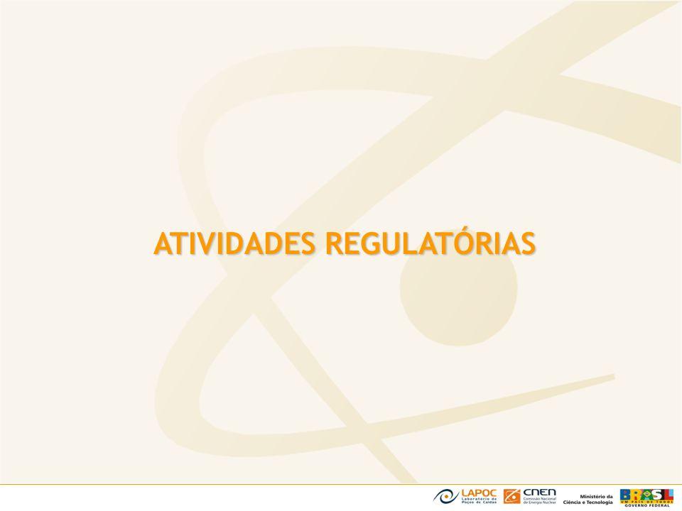 ATIVIDADES REGULATÓRIAS